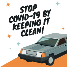 Stop COVID-19 by Keeping it Clean